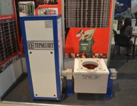 Induction melting furnace ICMEF-0.04