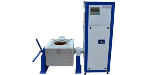 Induction melting furnace ICMEF-0.1-0.1