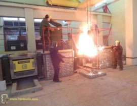 induction furnace for melting of metal ICMEF-0.6